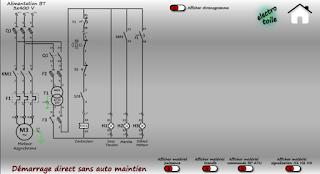Photo of تحميل برنامج Démarrage direct sans automaintien  لرسم الدوائر الاساسية للمحرك